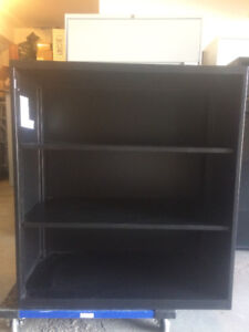 Teknion Three-High Metal Bookcase /Office / Parts Shelf /Garages
