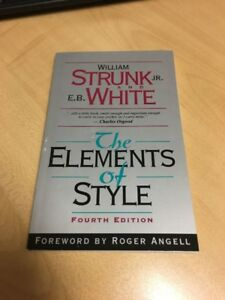 The Elements of Style - 4th Edition - KPU ENGL 1100