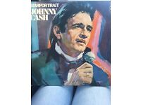 "Rare johnny cash double 12"" lp"