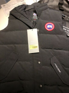 Canada Goose BRAND NEW Freestyle Vest, Ladies, Black, Medium