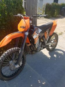 2008 ktm sxf 450 dirt bike