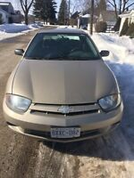 2005 Chevy Cavalier Ready for the road