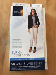 Compression Socks 15-20mmHg- Brand New in Box