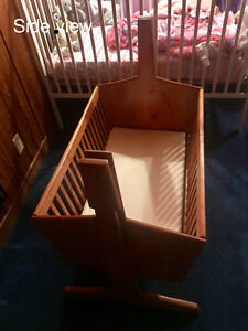 Hand crafted bassinet