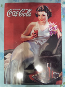 Vintage Reproduction by Cartexpo: Coke Cocacola Sign