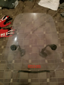 Motorcycle Spitfire Windshield (mid height)