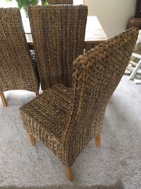 Next chairs and dining table