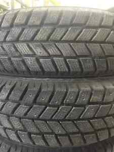 14in Hankook I-Pike RC01 Winter Tires For Sale 185/65R14 86T Peterborough Peterborough Area image 4