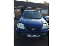 Nissan x trail 2002 breaking for spares replacement parts