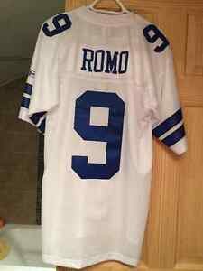 Authentic, New With Tags, Reebok, Number 9 Tony Romo Jersey