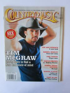 Magazine. COUNTRYMUSIC.2003.TIM McGRAW. (voir infos/ photos