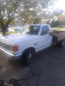 1988 f350 dually with custom flatbed deck