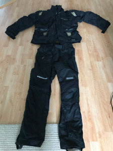 Motorcycle jacket and pant
