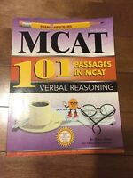 MCAT 101 Passages in Verbal Reasoning
