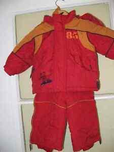Ensemble d'hiver 18 mois Gusti  manteau et pantalon