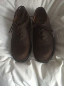Bass shoes -- boys brown  size 12m