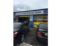 Wanted mechanic,mot tester and spray painter