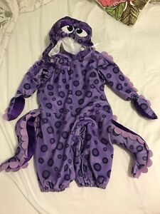 Octopus 12 month costume