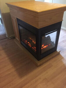 3 Way Electric Fireplace