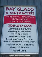 Glazier and experienced window installers