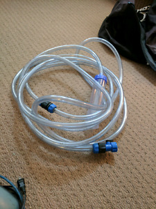 Aquarium water cleaning extension hose with tap attachment $20