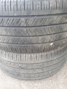 PAIR OF 255-55 R18 SUMMER TIRES