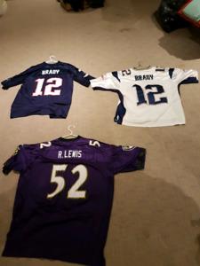 NFL jersey's