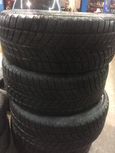 pneus hiver 18 pouces etait sur bmw x6 encore bon pour 10,000km