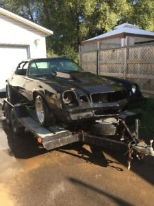 1979 camaro drag or street rolling chassis