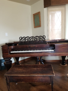 Steinway Antique Box Grand Piano