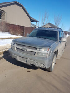 Chevy Avalanche 2002