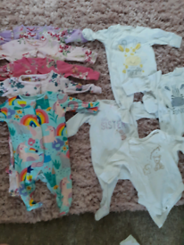 Next baby bundle 0-3 months baby girl items
