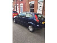 FORD FIESTA LX INK BLUE 2004 ONLY 46,000 MILES! £1,475 ONO