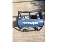 Power craft 3200dv petrol generator