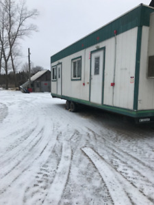 Mobile office trailer