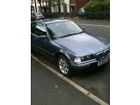 Bmw 316i compact, 138k, starts, runs and drives,no mot, spares or repairs, £300.00 ono must go !