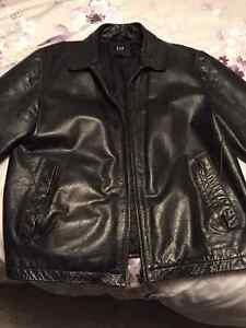 """The gap"" leather jacket"