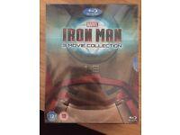 Iron man 1-3 blu ray