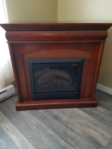Electric fireplace - NEEDS GONE TONIGHT! PICKUP ONLY