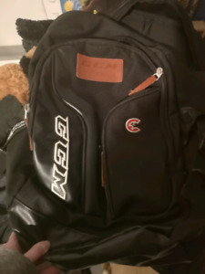 New cougars hockey CCM backpack