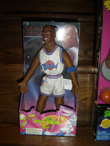 vintage 1996 Michael Jordan soft body Space Jam doll