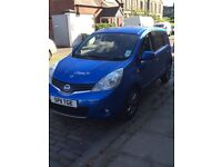 Nissan note 1.5 dci £20 a year tax £3000