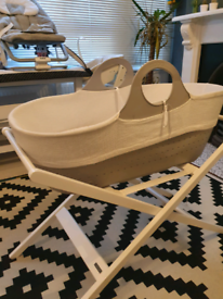 MOBA or tommee tippee sleepee baby moses basket