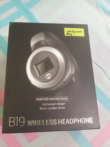 B19 wireless headphone