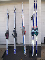 4 cross country skis packages /ski de fond: Laval / North Shore Greater Montréal Preview