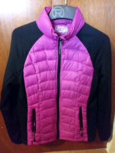 Ladies Small down filled light layering jacket $20 takes