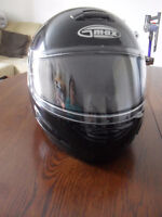 New Gmax Snowmobile helmet (black) size Small