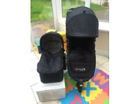 Baby jogger city mini GT + carry cot & lots of extras