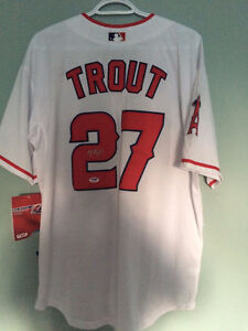Mike Trout Signed Jersey MLB Baseball With C.O.A