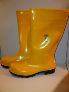Rubber Boots With Steel Toe